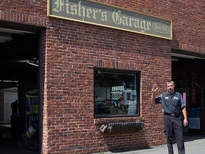 Fisher's Garage Photo