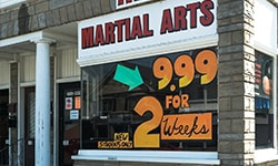 Martial arts location photo